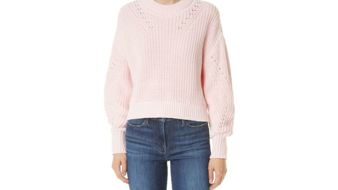 Nail Sweater Weather With 5 Cozy Crewnecks Currently on Sale at Nordstrom
