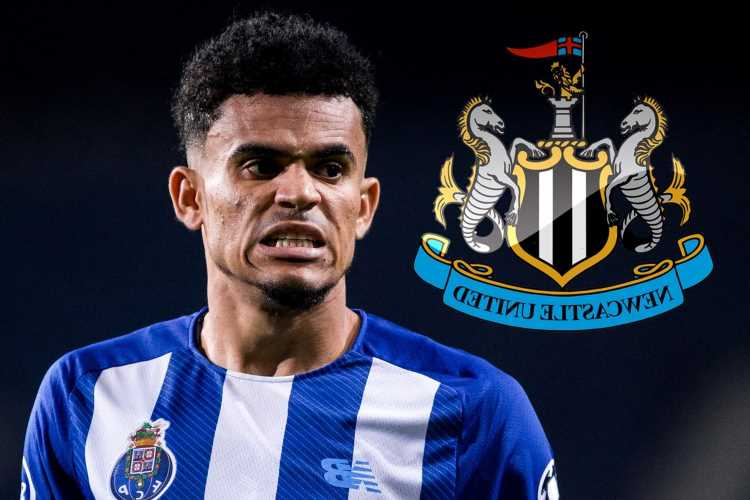 Newcastle 'set to smash transfer record by triggering Porto striker Luis Diaz's £68m release clause in January'