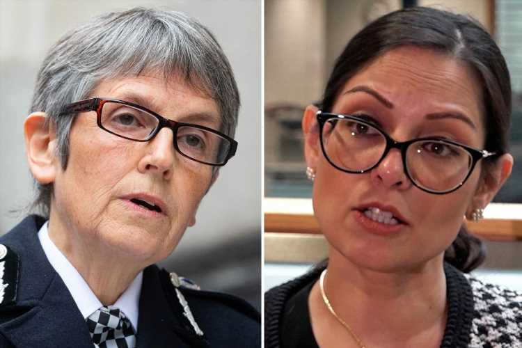 Priti Patel launches nationwide hunt for the next head of Scotland Yard