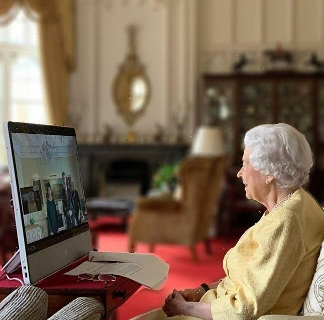 Queen Elizabeth did her first virtual event since last weeks hospitalization