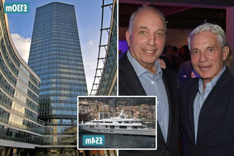 Reuben brothers David and Simon have property worth £18bn, own a £54m yacht and are involved in Newcastle takeover – The Sun