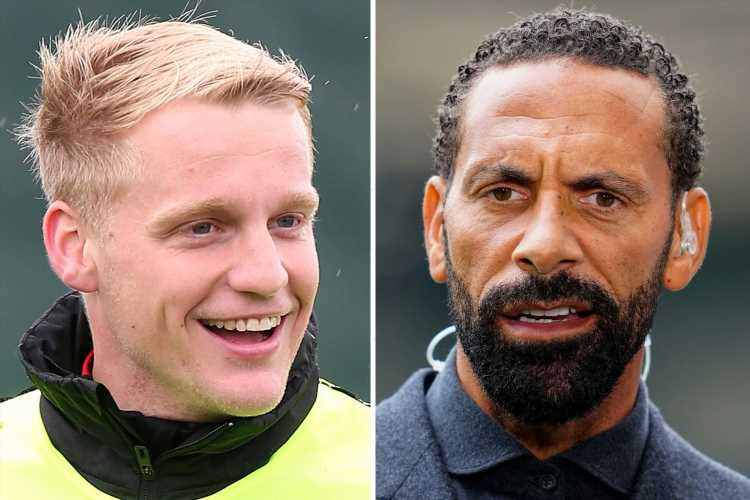 Rio Ferdinand fears Van de Beek is 'too nice' to win place at Man Utd but hopes Old Trafford nightmare spurs him on