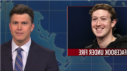 SNLs Weekend Update Lampoons Facebook And R. Kelly