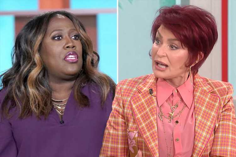 Sharon Osbourne claims The Talk's Sheryl Underwood was sent to anger management THREE TIMES for 'mistreating producers'
