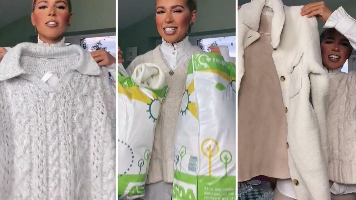 Shoppers are raving about George at Asda's new winter line of luxe coats, cosy loungewear and prices start at just £5