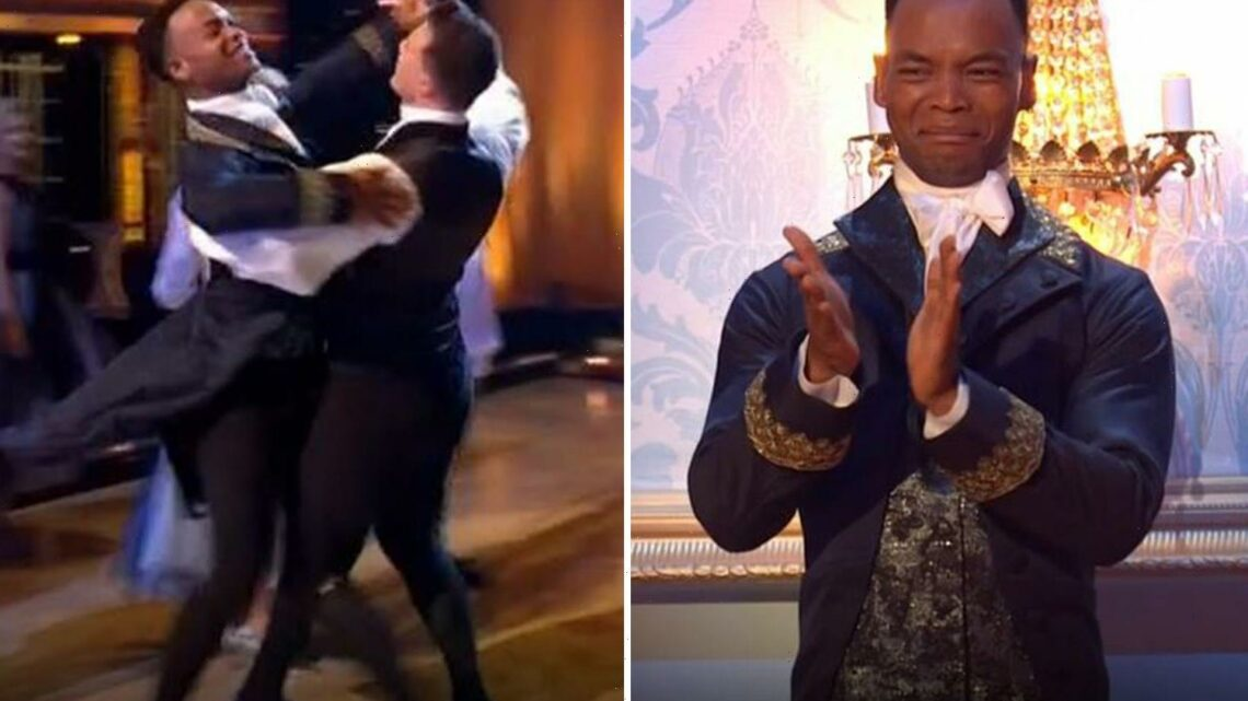 Strictly viewers in tears as Johannes breaks down after leading same-sex Bridgerton-style dance with Kai