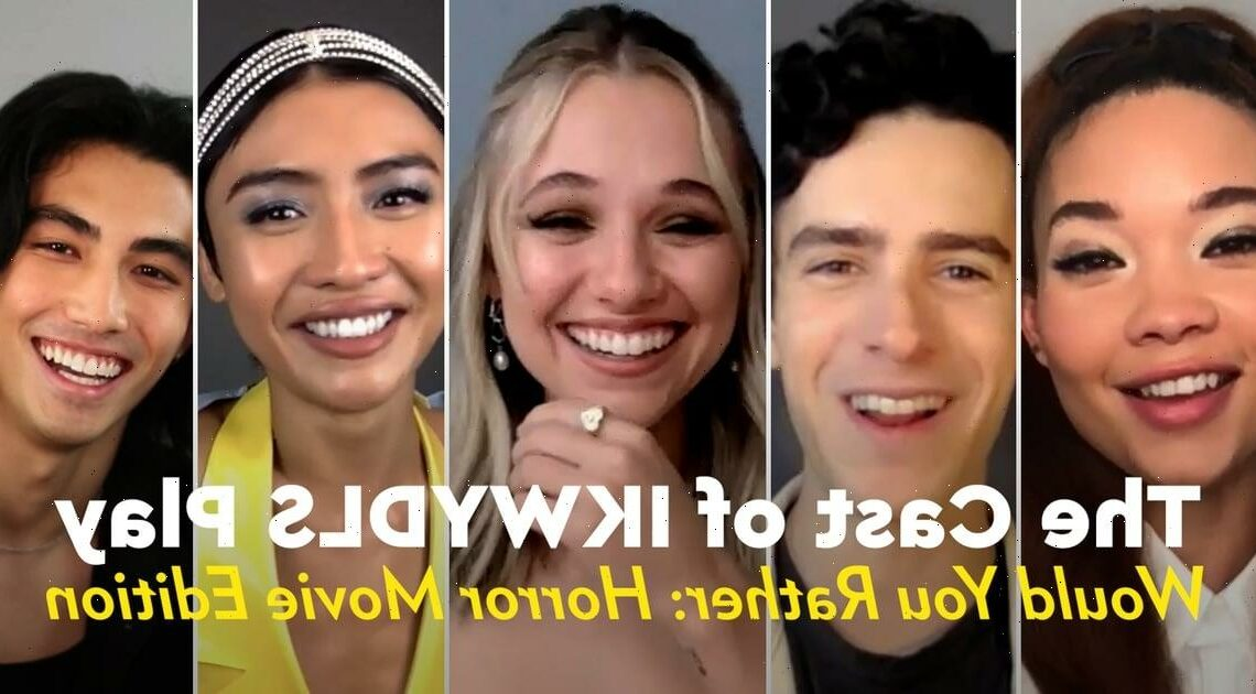 The Cast of I Know What You Did Last Summer Play a Scary Game of Would You Rather