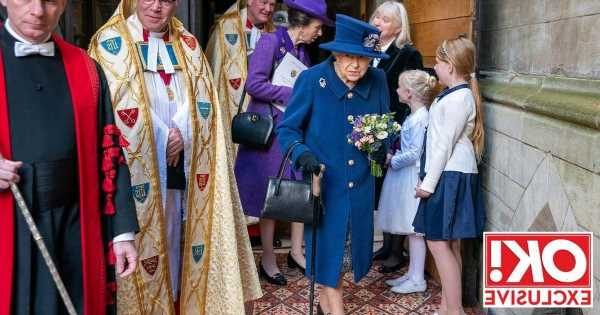 The Queen using a walking stick is a reminder she's 'not slowing down' says royal expert