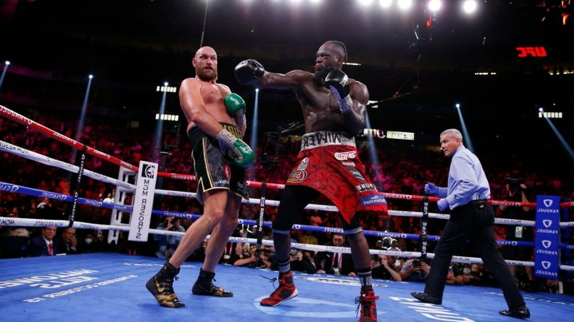Tyson Fury led Deontay Wilder on all three scorecards before stunning knockout