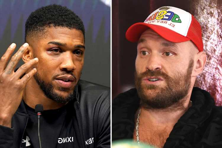 Tyson Fury offers to train Anthony Joshua for Oleksandr Usyk rematch and guarantees rival victory over Ukrainian