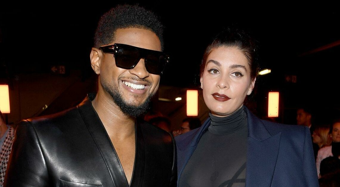 Usher welcomes second child with girlfriend Jenn Goicoechea and shares name