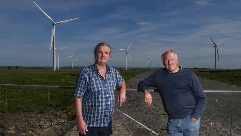 Wind farm owners denied turbines were too loud, yet claimed compensation for them