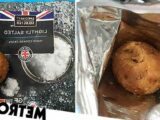 Woman shocked to find whole potato in a bag of Aldi crisps