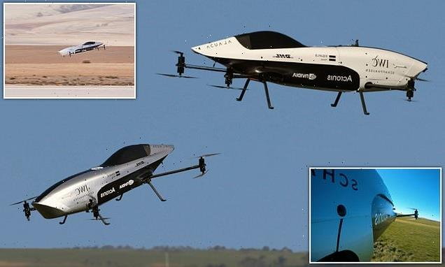 World's first electric flying race-cars take to the skies
